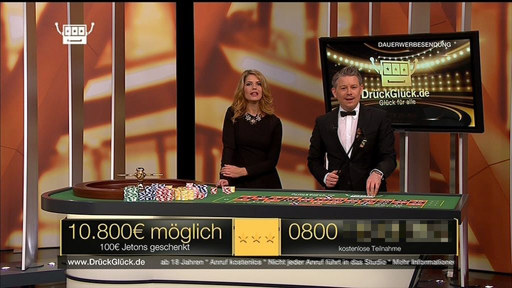 DrückGlück Casino Sendung auf Sport1